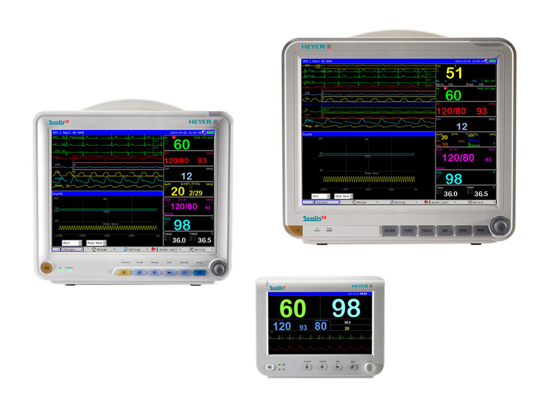 Heyer Scalis PATIENT MONITORING SYSTEMS FOR ADULT, PEDIATRIC